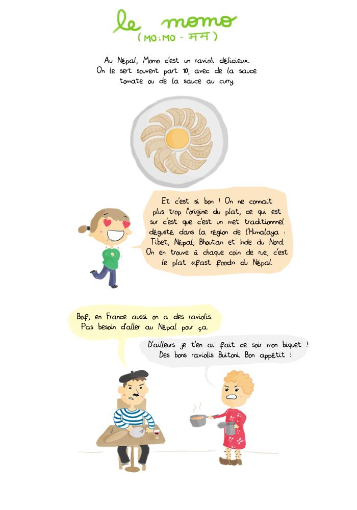 Gastronomie népalaise : le momo