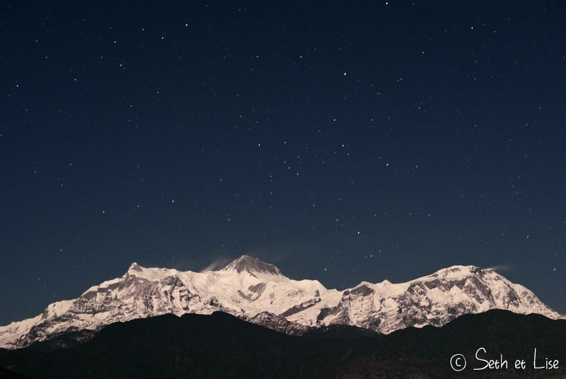L'Himalaya de nuit.