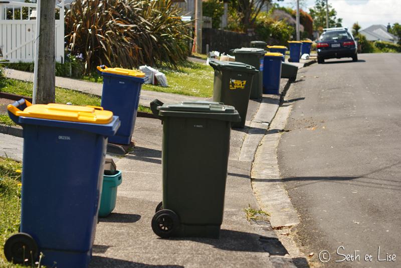 Le jour du ramassage des poubelles se transforme en slalom pour piétons