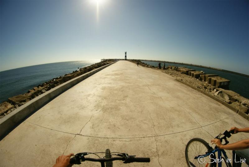 La Costa Nova à vélo