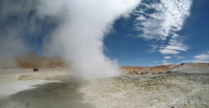 geyser souffre