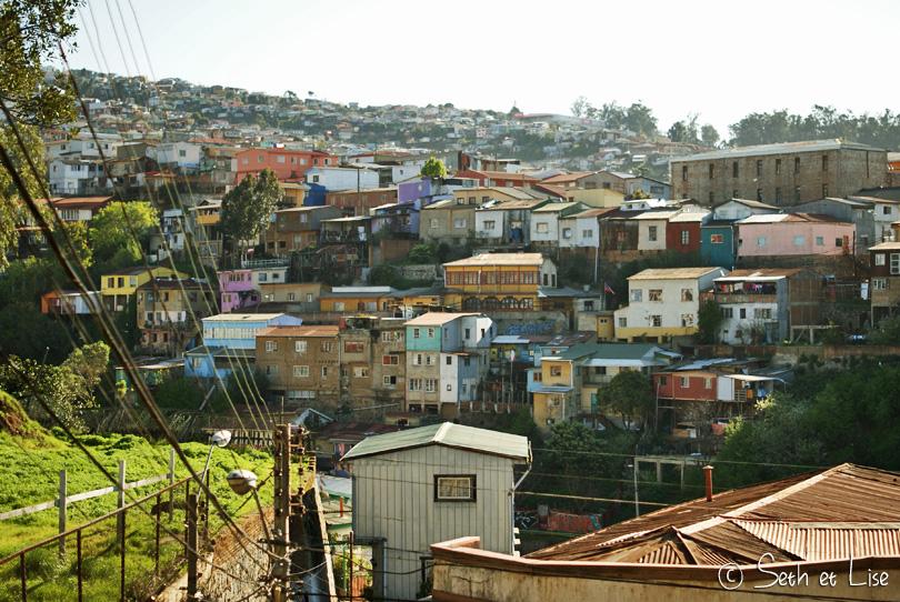 Départ pour Valparaiso