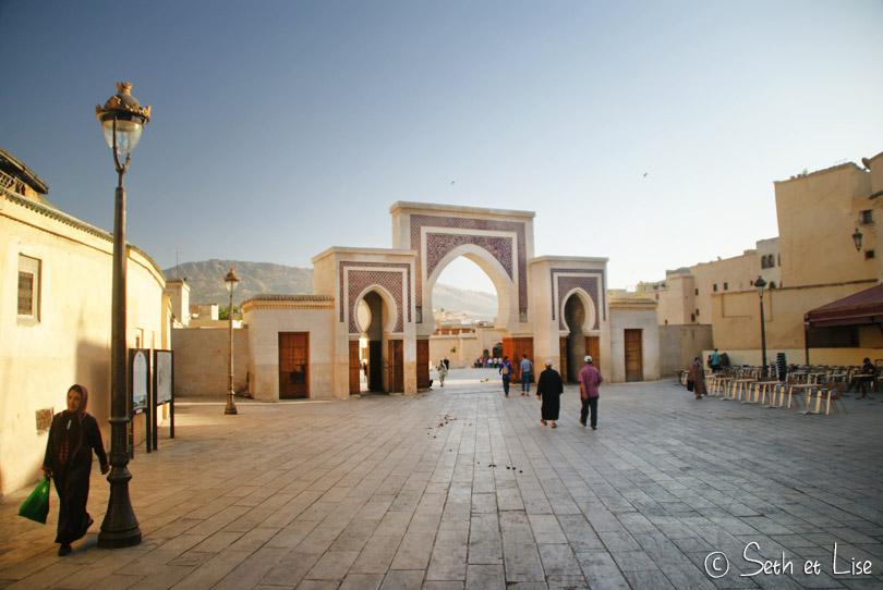 Bab R'Cif porte architecture de fes