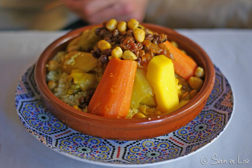 couscous poulet maroc