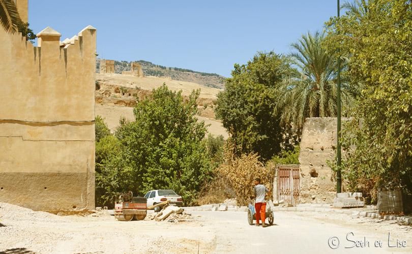 muraille fes maroc