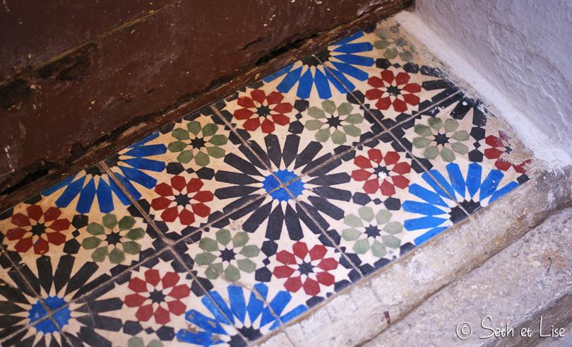 fes maroc mosaique