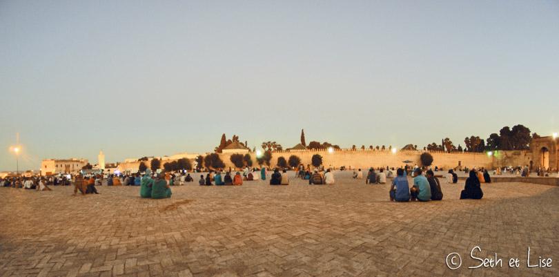 place Boudjloud fes maroc