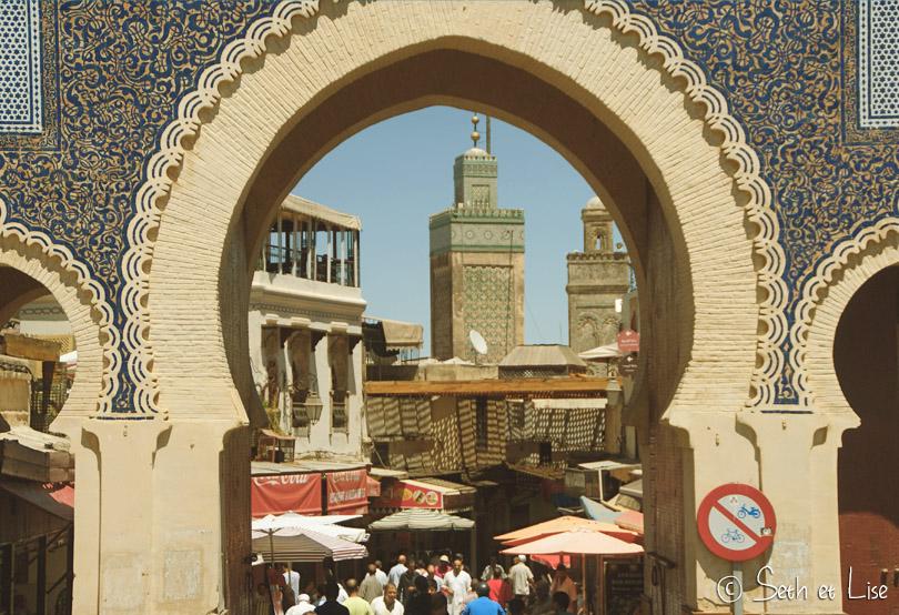 porte principale fes medina