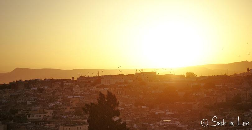 lever soleil fes maroc