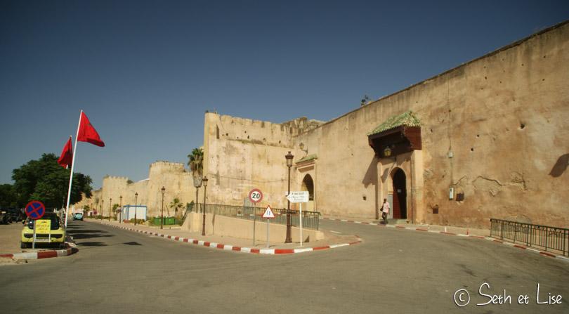 rempart mknès cité impériale