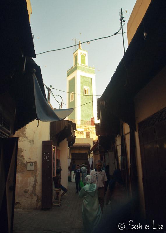 minaret meknès