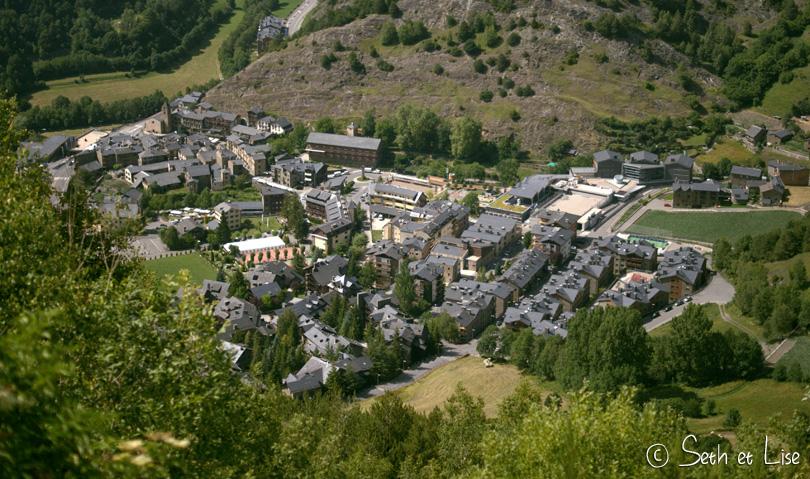 andorre vue village