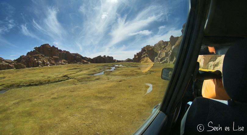 laguna negra bolivia altiplano