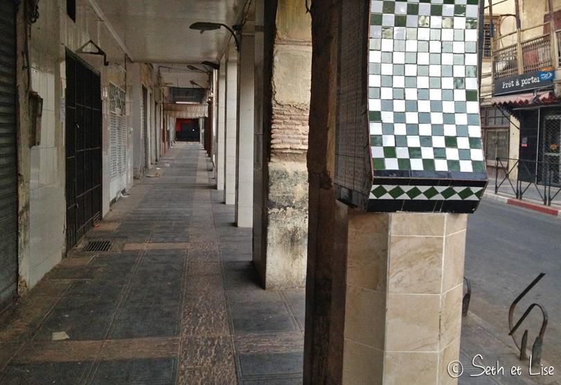 rues désertes