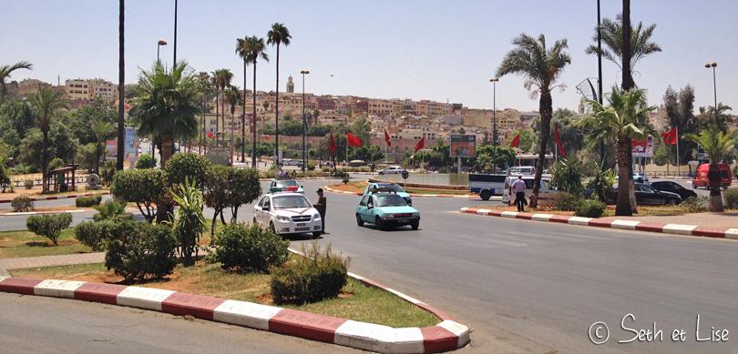 maroc road