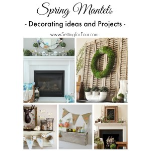 Clever Spring Mantel Decorating Ideas Projects Setting Spring Mantel Ideas Decor Four Diy Decorating Projects Apartments Diy Bathroom Decorating Projects