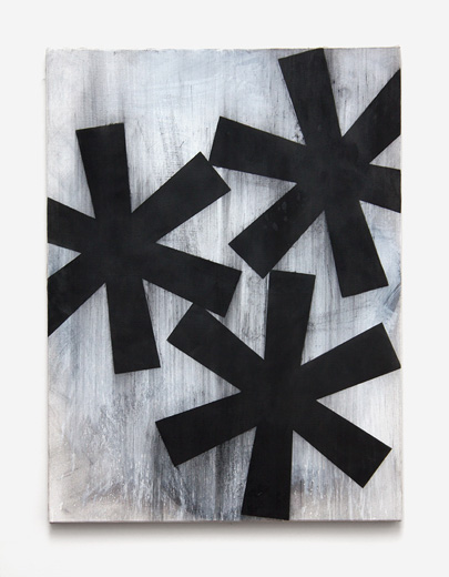 Jamie Shovlin, Untitled (Three Fucked Asterisk)