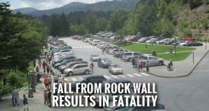 Ohio Woman Dies After Fall from Rock Wall at Newfound Gap