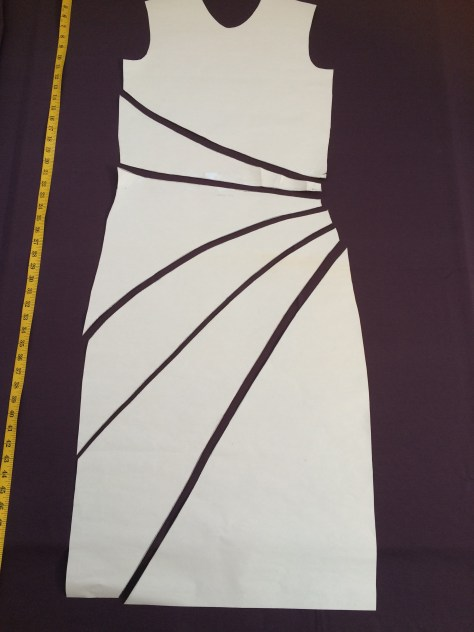 purple dress pattern