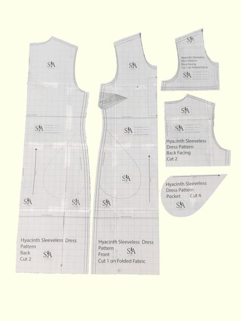 Hyacinth Sleeveless Dress Pattern
