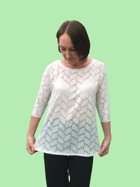 Long Sleeved Lillia T-shirt Pattern image