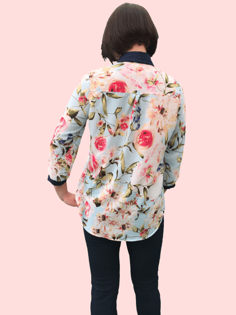 Rosie Shirt Floral image