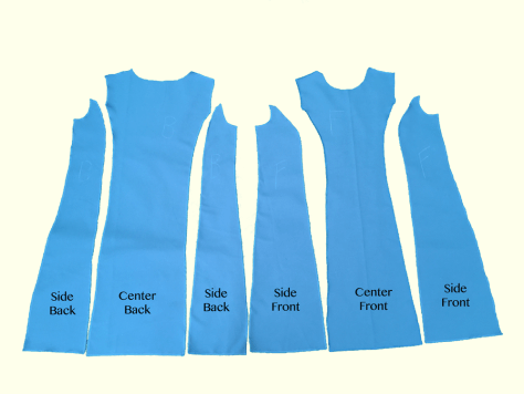 Blue Dress Layout image