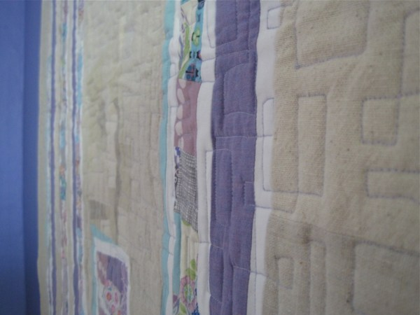 sewkatiedid/ Soft Splintered quilt