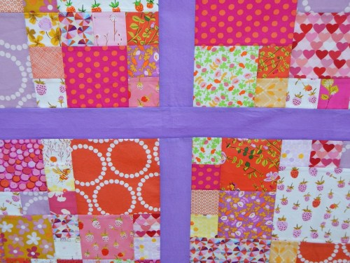 Sewkatiedid/Berry Patch Quilt Top