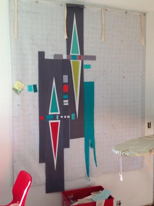 sewkatiedid/design wall