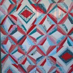 SEW KATIE DID:MOD Pinwheel Quilt Detail