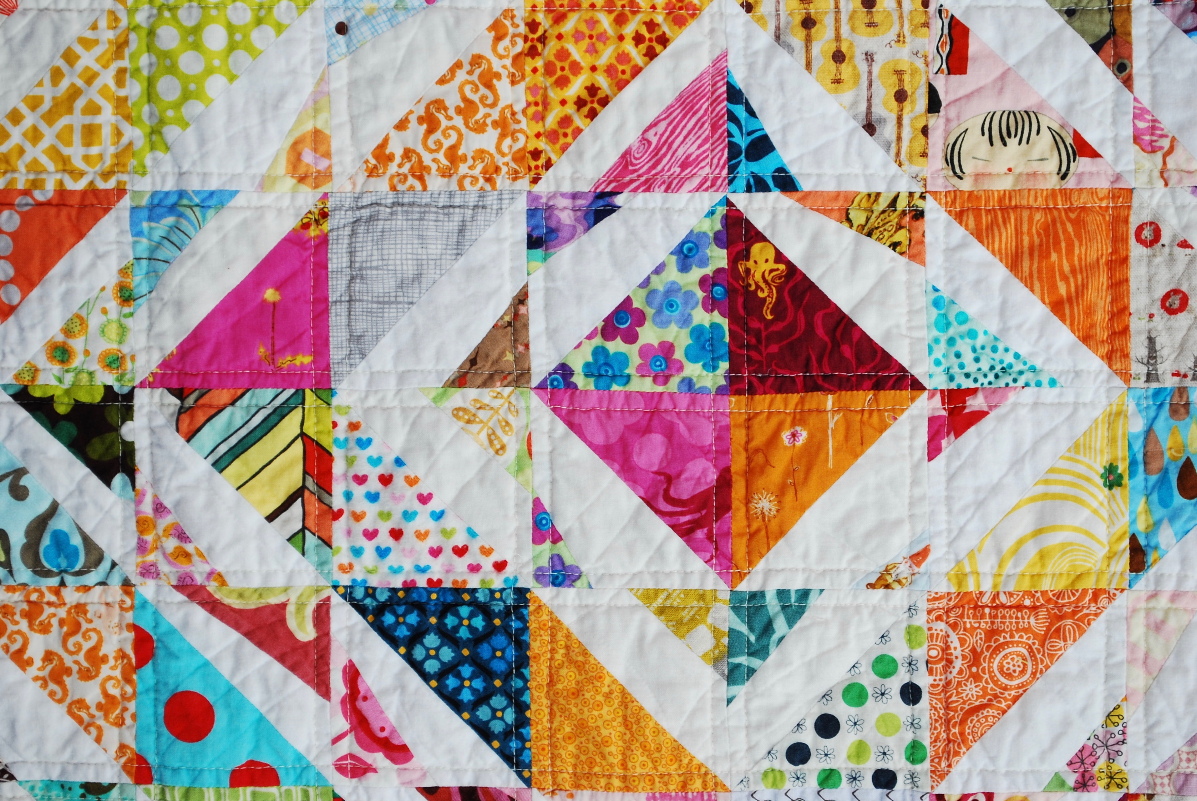 sew katie did | Seattle Modern Quilting Studio and Workshops | Double-Trouble Quilt