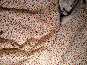 Small floral cotton