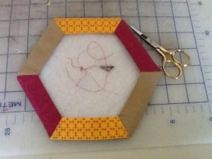 hexagon thread catcher