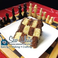Secret Design Chess Cake