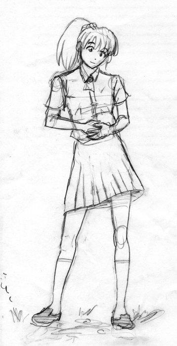 sketch-natsuki