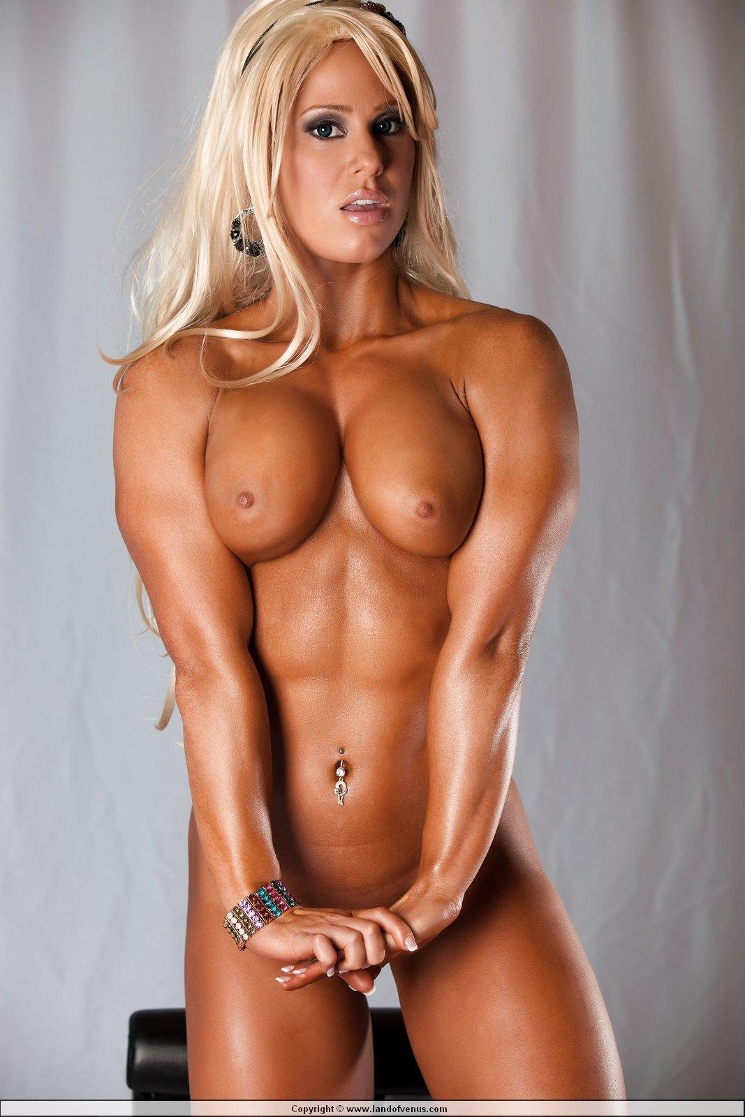 muscular nude male
