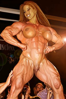 manga muscle girls