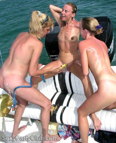 nudist swinger party