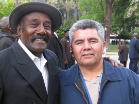 Three years of fighting together for justice has forged many friendships across racial lines. – Photo: Francisco Da Costa