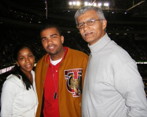 Legendary attorney Chokwe Lumumba with his son and daughter, Chokwe Antar and Rukia