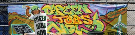 Green Jobs Now by Desi 360 at GreentheBlock.net