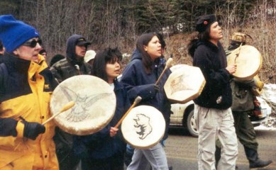 The influence of the Native Youth Movement-led protests against the 2010 Winter Olympics was demonstrated Nov. 24, when Amy Goodman of Democracy Now! was stopped at the border for fear she would discuss the issue.