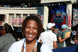 Ayesha Walker covered the 2008 Democratic National Convention in Denver, Colorado, as a photojournalist for Youth Radio. – Photo: Ayesha Walker