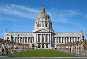 San Francisco City Hall, an unrivaled symbol of municipal opulence, needs to trim its waste-line.