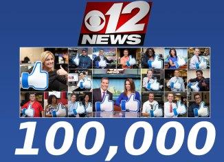 WPEC CBS 12 News Facebook likes
