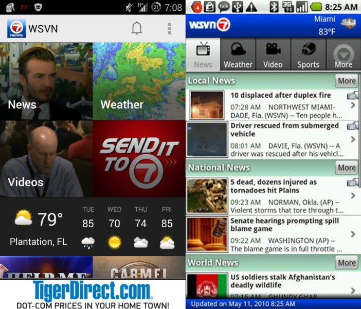 WSVN Android App