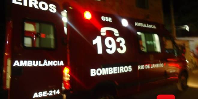 ambulância corpo de bombeiros