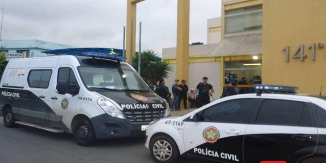 POLICIA CIVIL VIATURAS OPERAÇÃO DELEGACIA