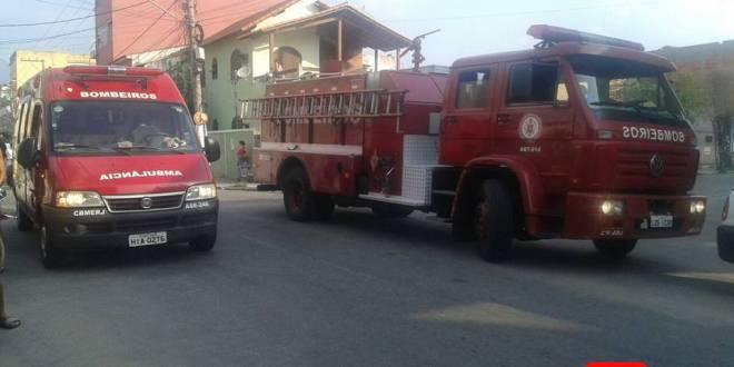 colisão centro bombeiros